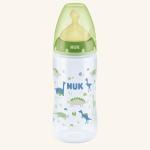 NUK First Choice Plus Бутылочка 300 мл полипропиленовая с соской из латекса