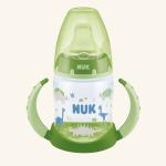 NUK  First Choice Обучающая бутылочка 150 мл с насадкой для питья из силикона