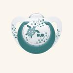 NUK Genius Color Соска-пустышка из силикона
