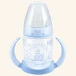 NUK Baby Rose & Blue PP-Trinklern-Flasche