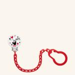 NUK Disney Mickey Mouse Клипса с цепочкой для соски-пустышки