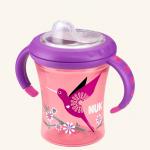 NUK Easy Learning Обучающий поильник Первая чашка малыша 220 мл с мягкой насадкой для питья из силикона