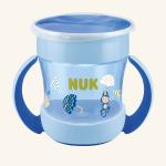 """NUK Evolution Поильник """"MINI MAGIC"""" 160 мл с насадкой для питья 360° и ручками"""