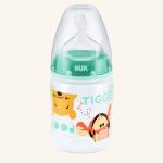 NUK First Choice Plus Disney Winnie the Pooh Бутылочка из полипропилена 150 мл с соской из силикона