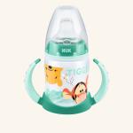 NUK First Choice Disney Winnie the Pooh Обучающая бутылочка из полипропилена 150 мл с насадкой для питья из силикона