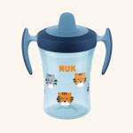 """NUK Evolution Поильник """"TRAINER"""" 230 мл с насадкой для питья"""