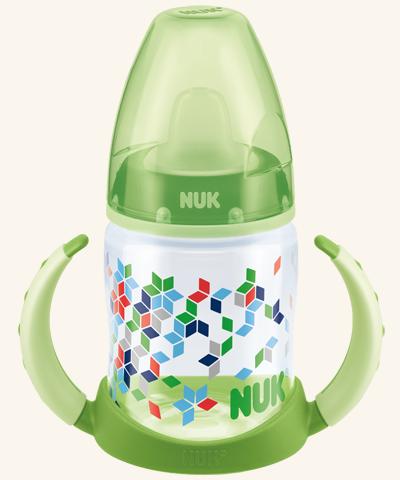 NUK FIRST CHOICE Trinklern-Flasche mit Soft-Trinktülle