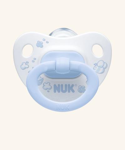 NUK Classic Соска-пустышка Rose & Blue
