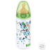 NUK FIRST CHOICE Babyflasche mit Latex-Sauger, 300 ml