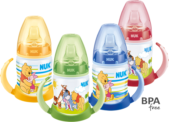 NUK First Choice Disney Winnie the Pooh Learner Bottle 150ml with spout